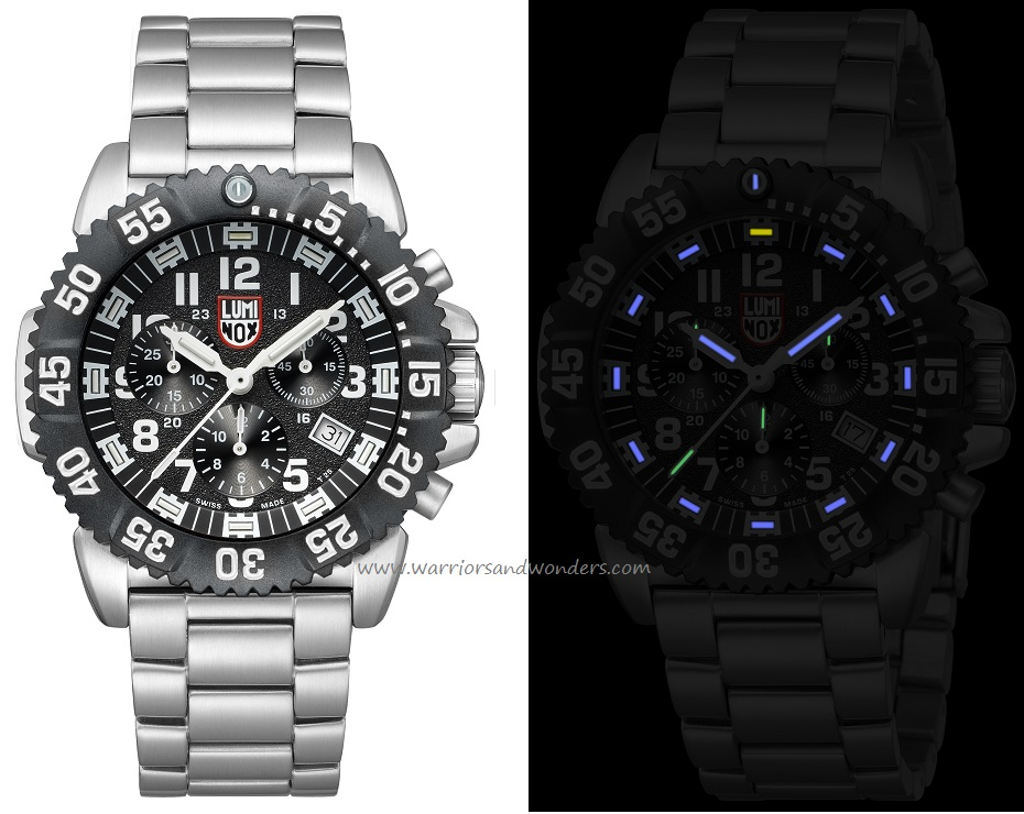 Luminox Sea A.3182 Steel Colormark Chronograph Series