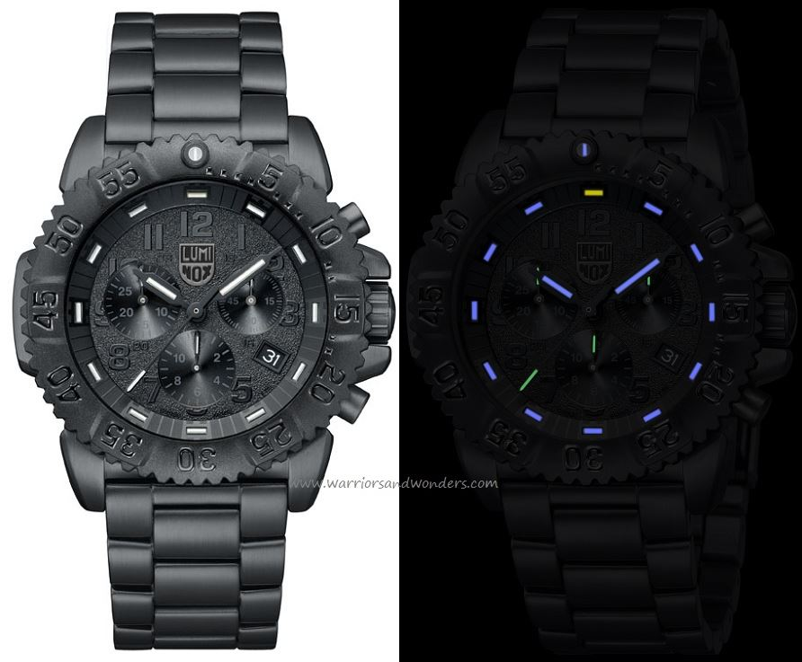 Luminox Sea A.3182.BO Steel Colormark Chronograph Series