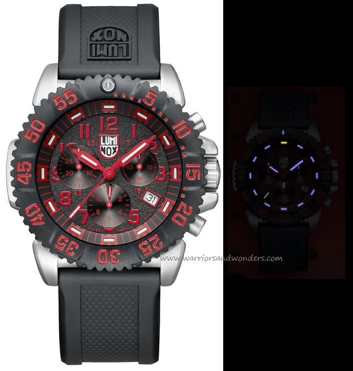 Luminox Sea A.3195 Steel Colormark Chronograph Series