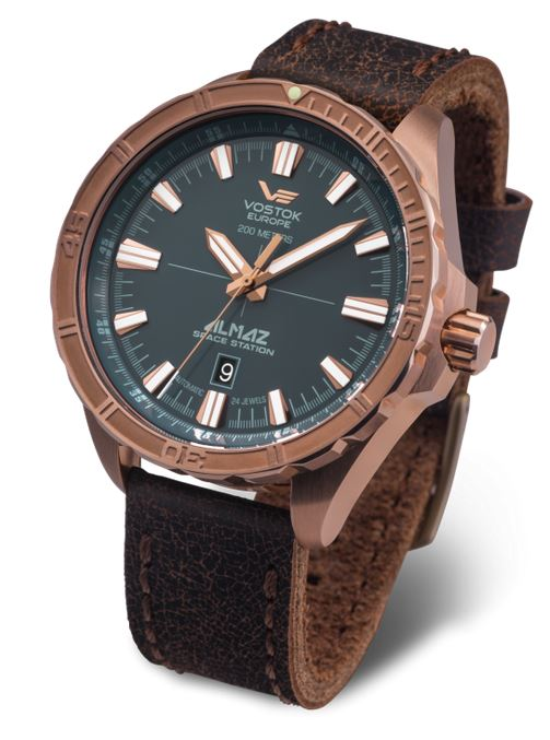 Vostok Europe Almaz Bronze Automatic Watch 320O507