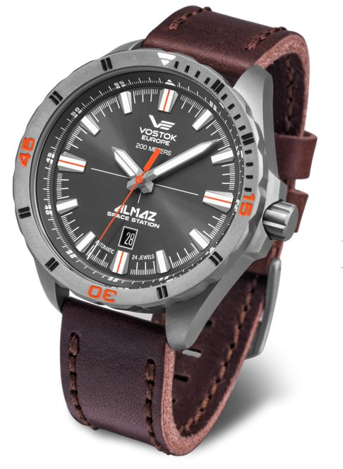 Vostok Europe Almaz Titianium Automatic Watch 320H263