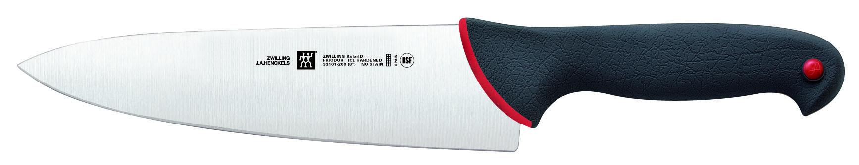 "Zwilling J A Henckels KolorID 8"" Chef's Knife"