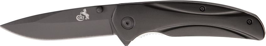Colt 333 Groove Black Plain Edge (Online Only)