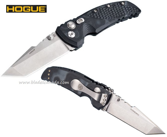 "Hogue 34169 Medium Tanto 3.5"" 154CM, G10 (Online Only)"
