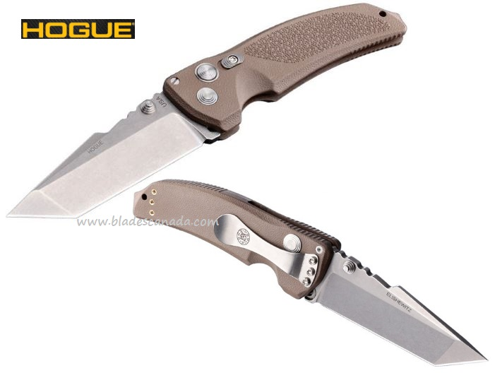 "Hogue 34363 EX-03 Medium 3.5"" Tanto Blade 154CM (Online Only)"