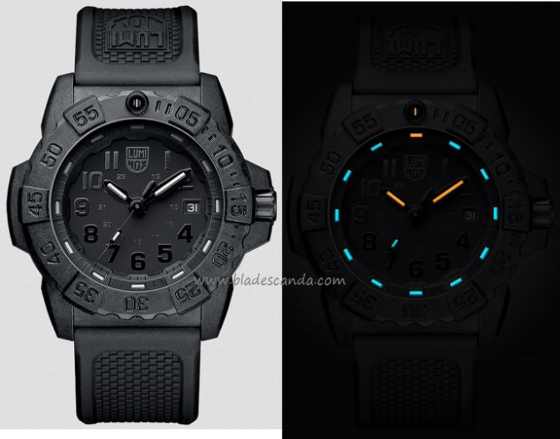 Luminox A.3501BO Navy Seal Series PC Carbon - Blackout