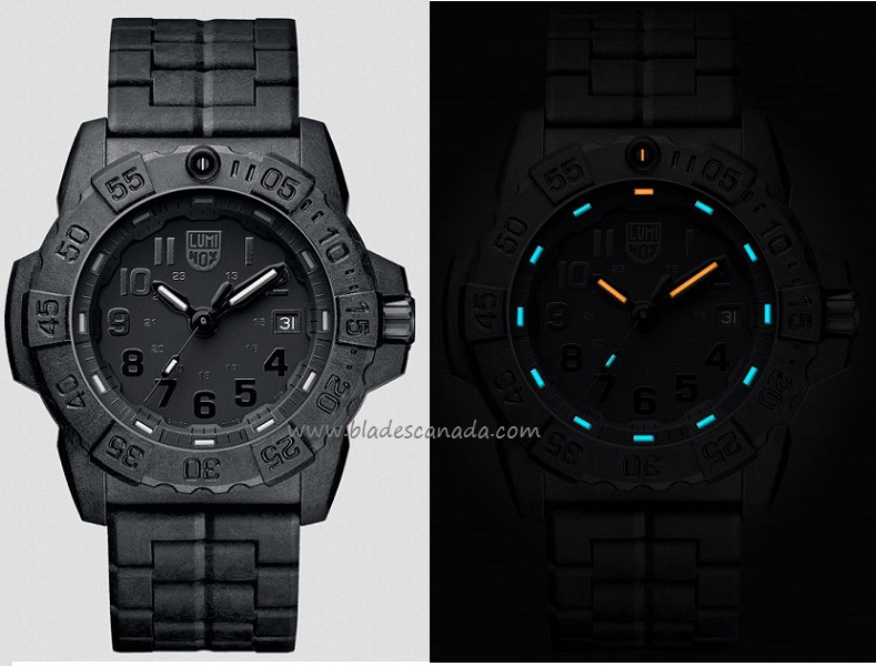 Luminox A.3502BO Navy Seal Series PC Carbon Blackout