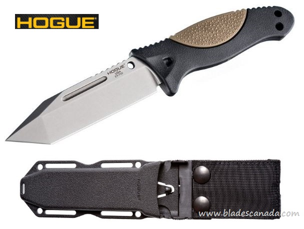 "Hogue 35263 EX-F02 Fixed Blade 4.5"" Tanto 154CM (Online Only)"