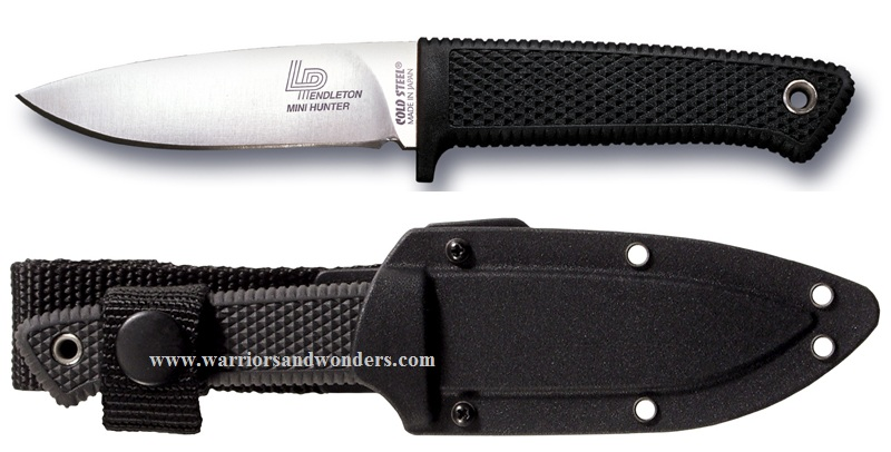 "Cold Steel 36LPM Pendleton Mini Hunter w/ 3"" Blade"
