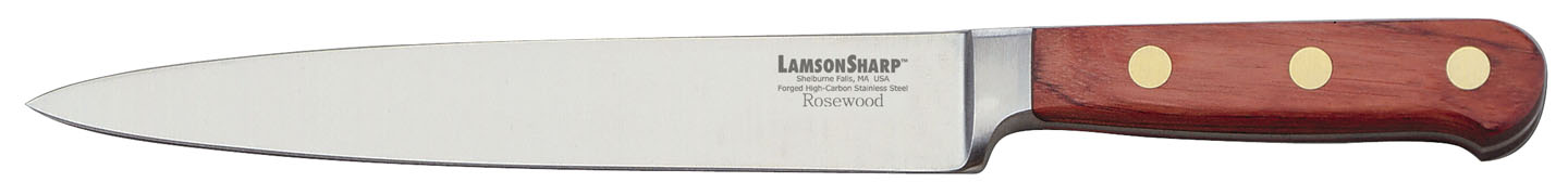 "Lamson Rosewood Forged 8"" Carving"