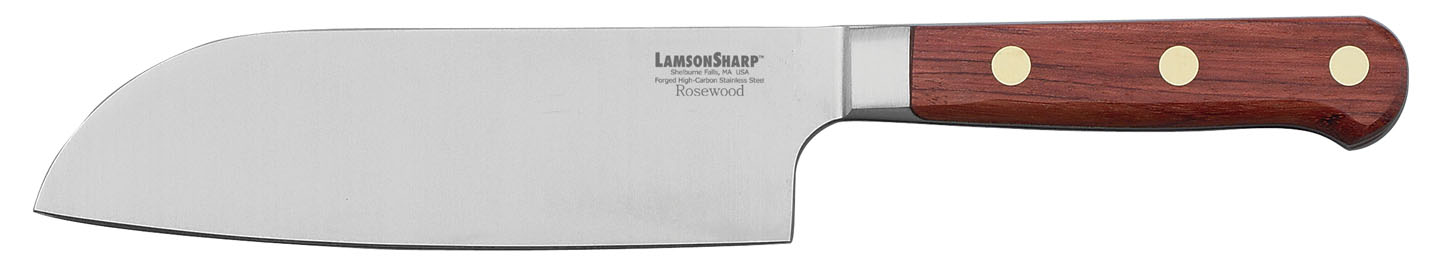 "Lamson Rosewood Forged 7"" Santoku (Online Only)"