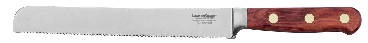 "Lamson Rosewood Forged 8"" Bread Knife Serrated (Online Only)"