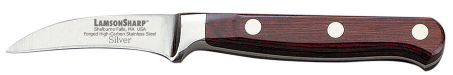 "Lamson Silver Forged 2.5"" Bird's Beak Paring Knife (Online Only)"