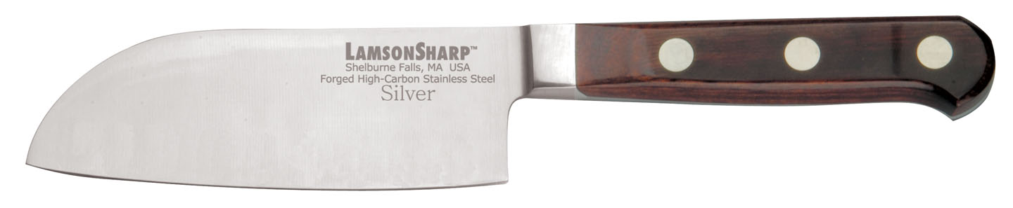"Lamson Silver Forged 5"" Santoku (Online Only)"