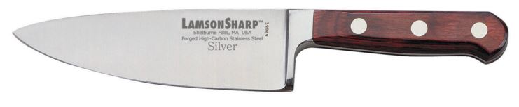 "Lamson Silver Forged 6"" Wide Chef's Knife (Online Only)"