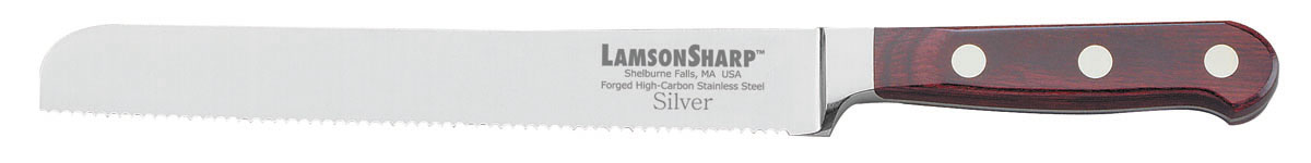 "Lamson Silver Forged 8"" Bread Knife Serrated (Online Only)"