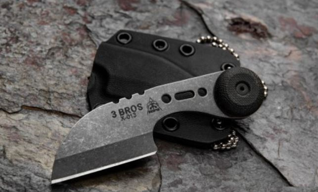Tops Knives 3 Bros Sheep's Foot Neck Knife