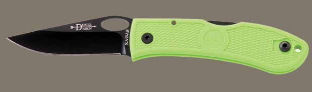 Ka-Bar 4065ZG Dozier Folding Knife, Zombie Green (Online Only)