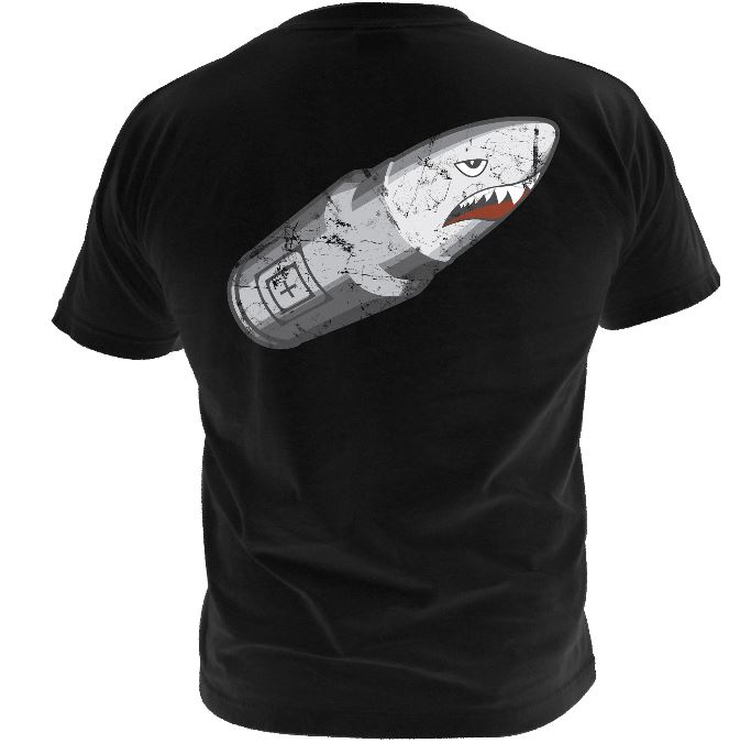 5.11 Bullet Shark T-Shirt - Black