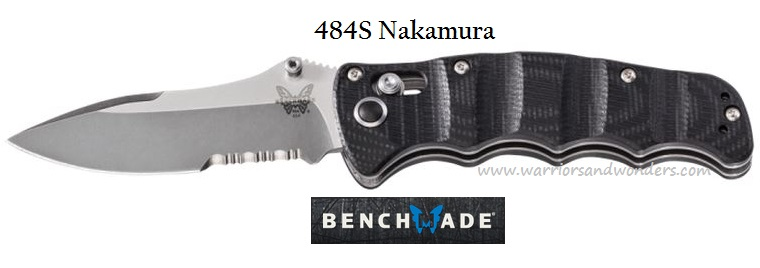 Benchmade 484S Nakamura Partially Serrated