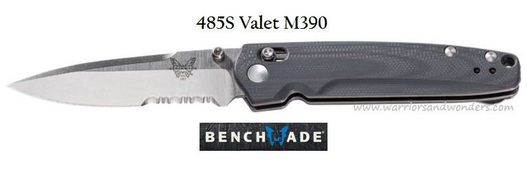 Benchmade Valet Folder w/Serration M390 485S