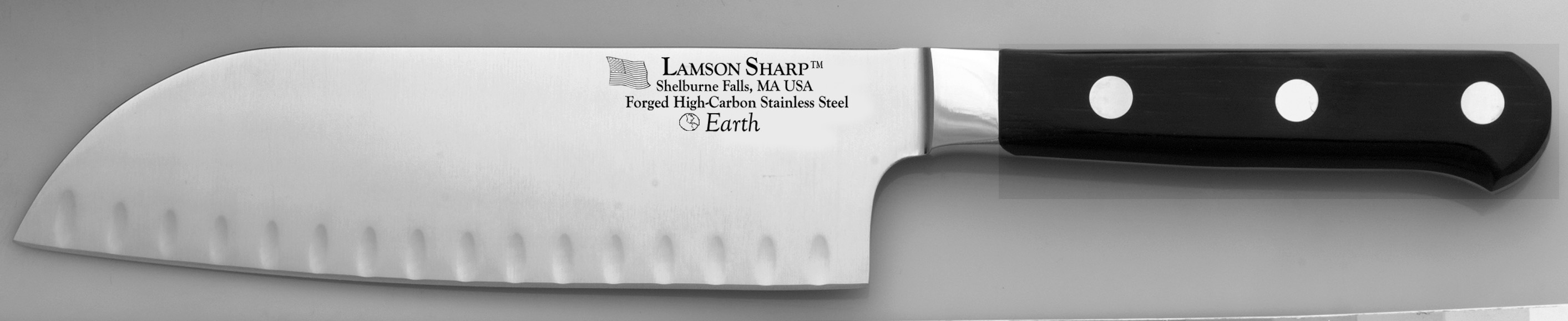 "Lamson Earth Forged 7"" Kullenschliff Santoku (Online Only)"