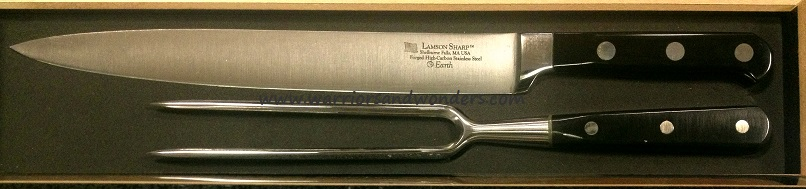 Lamson Earth Forged 2-Piece Carver Set with Slicer