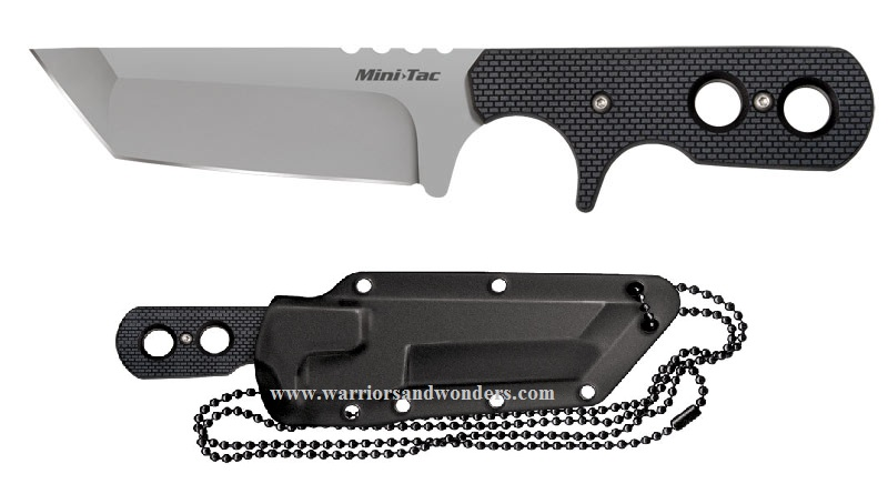 Cold Steel Mini Tac Tanto Plain Edge 49HTF