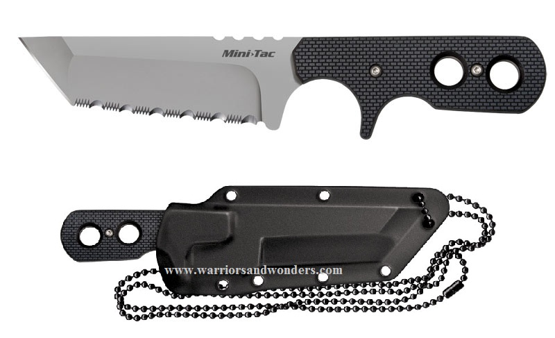 Cold Steel 49HTFS Mini Tac Tanto - Serrated (Online Only)