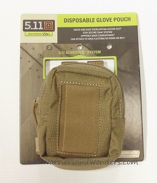 5.11 Disposable Glove Pouch - Sandstone