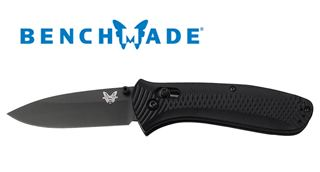 Benchmade Presidio Ultra 522BK Black Plain Edge Blade