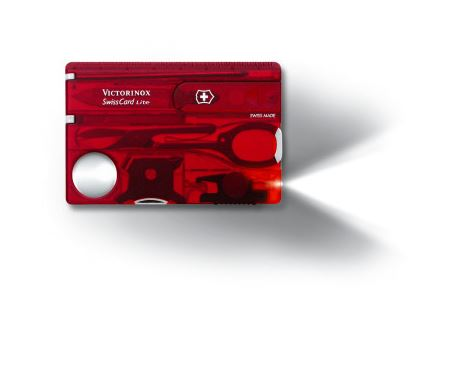 Swiss Army SwissCard Lite - Ruby