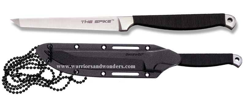 Cold Steel 53CT Spike Tanto Neck Knife (Online Only)