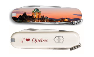 Swiss Army Classic - Quebec Skyline Edition