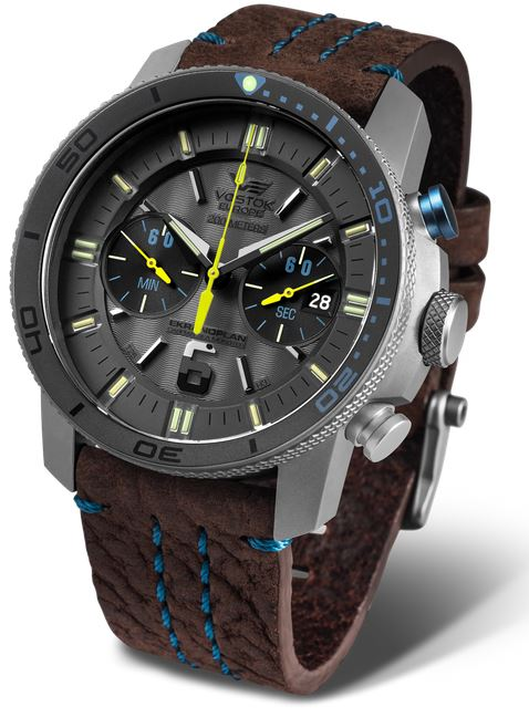Vostok Europe Ekranoplan Titanium Chrono Dive Watch 546H514