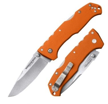 Cold Steel 54NVRY Working Man Blaze Orange Folding Knife