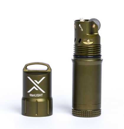 Exotac titanLIGHT Lighter - Olive Drab