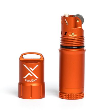 Exotac titanLIGHT Lighter - Orange
