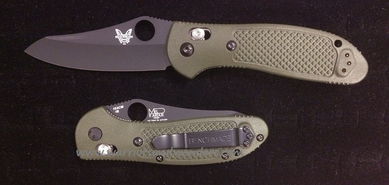 Benchmade 550BKHGOD Griptilian Black Plain Edge