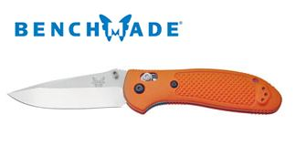 Benchmade Griptilian S30V Plain Edge Orange 551ORG-S30V