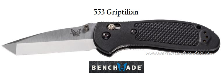 Benchmade Griptilian Tanto 553, 154CM Steel, (Online Only)
