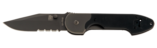 Ka-Bar 5549 FIN Mojo Folder Partially Serrated (Online Only)
