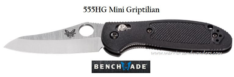 Benchmade Griptilian Mini Plain Edge 555HG
