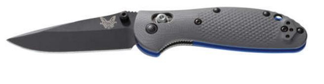 Benchmade Griptilian G10, Black CPM-20CV Plain Edge 556BK-1