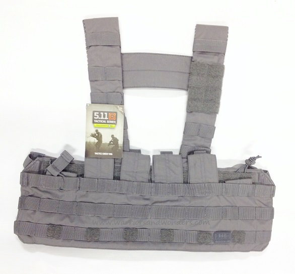 5.11 TacTec Chest Rig - Storm Grey