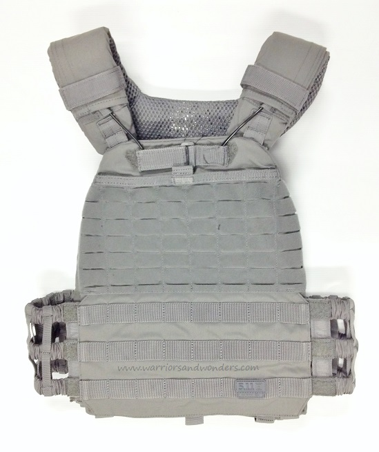 5.11 TacTec Plate Carrier - Storm Grey