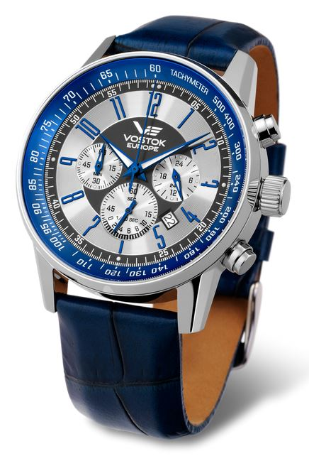 Vostok Europe Gaz Limo Chronograph - Blue