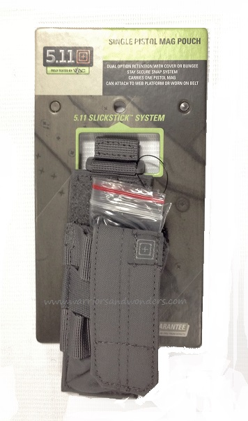5.11 Pistol Bungee Cover - Storm Grey