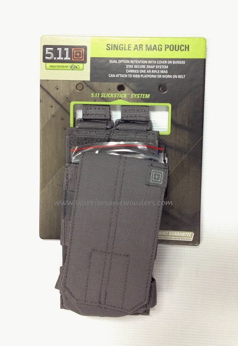 5.11 AR /G36 Single Bungee Cover Pouch - Storm Grey [Clearance]