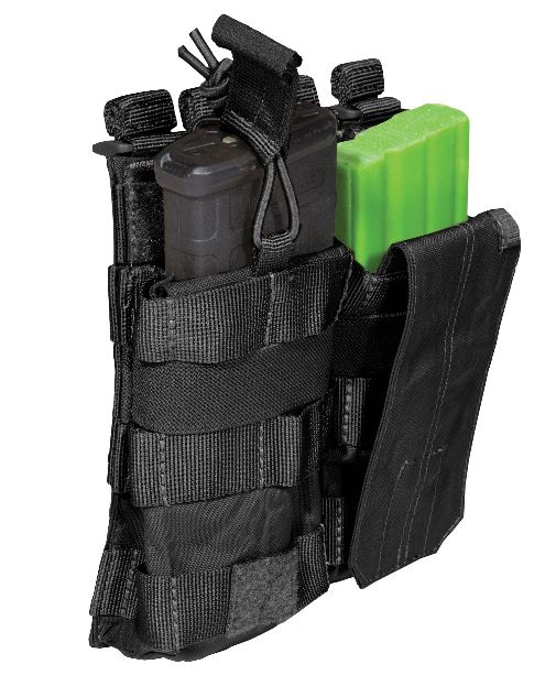 5.11 AR /G36 Double Bungee with Cover - Black
